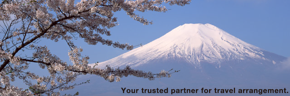 Your trusted partner for travel arrangement.